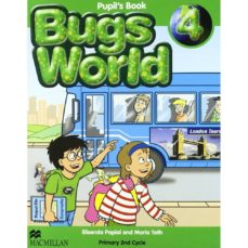 Portada de Bugs World 4 Pupil S Book