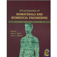 Portada de Encyclopedia Of Biomaterials And Biomedical Engineering (2nd Ed.) (four-volume Set)