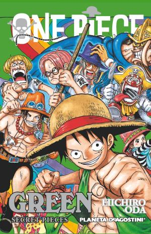 Portada de One Piece Guia Green