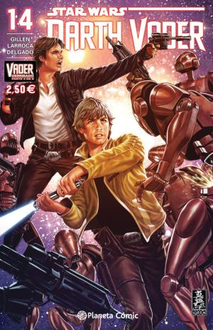 Portada de Star Wars Darth Vader 14