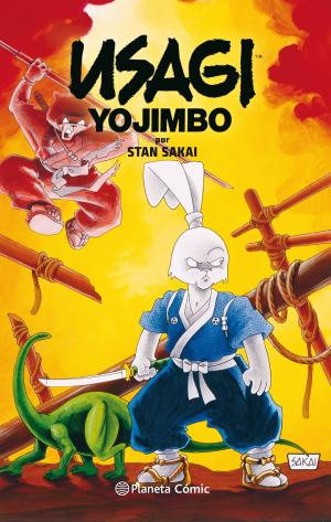 Portada de Usagi Yojimbo Fantagraphics Collection Nº 02/02