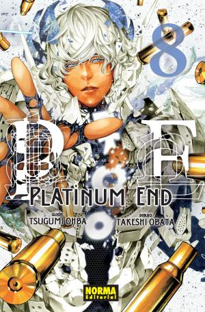 Portada de Platinum End 8