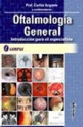 Portada de Oftalmologia General: Introduccion Para El Especialista (cartone)